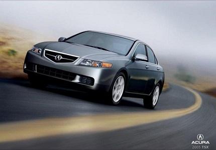 Ремонт Acura TSX I