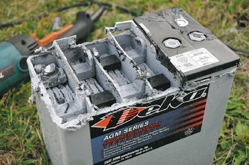 восстановление аккумулятора автомобиля
