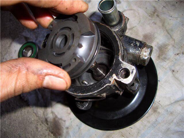 ремонт гидроусилителя руля мерседес