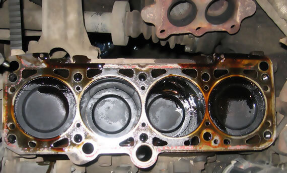 Замена блока цилиндров двигателя, прокладки ГБЦ, головки блока